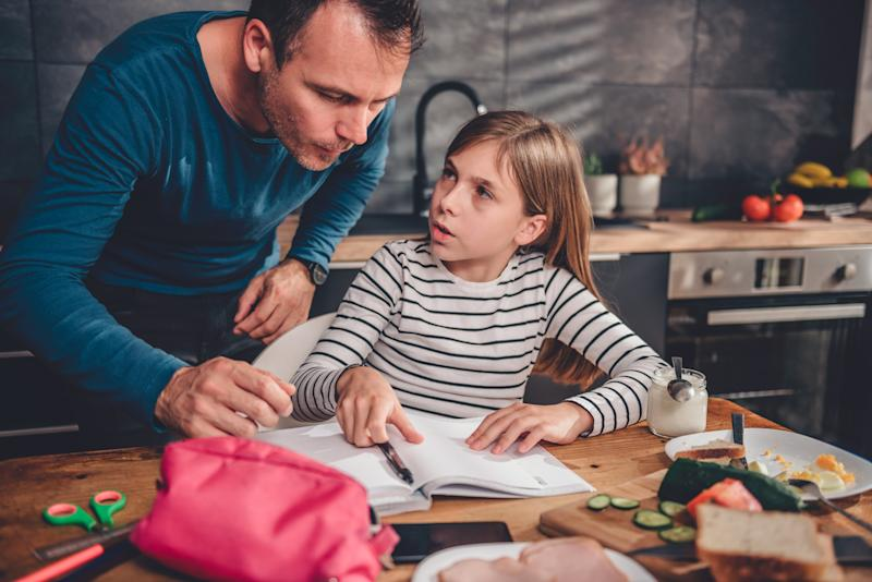 Parents can now access a home schooling helpline. (Getty Images)