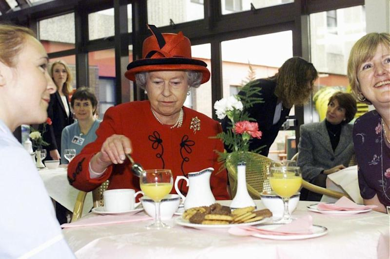 The Queen likes to eat her cereal out of tupperware. Photo: Getty Images