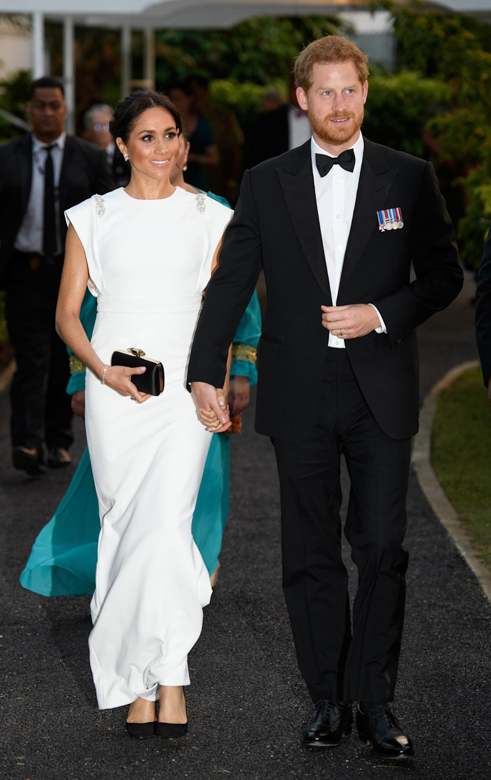 <p>The Duke and Duchess of Sussex captivated millions with their whirlwind romance and barrier breaking royal wedding. The couple's commitment to one another has proved unbreakable since resigning as senior royals for a private life in California. <em>(Image via Getty Images)</em></p>