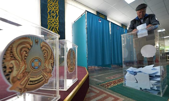 No vote in Kazakhstan has ever been recognised as fully democratic by the Organisation for Security and Co-operation in Europe (OSCE) (AFP Photo/VYACHESLAV OSELEDKO)