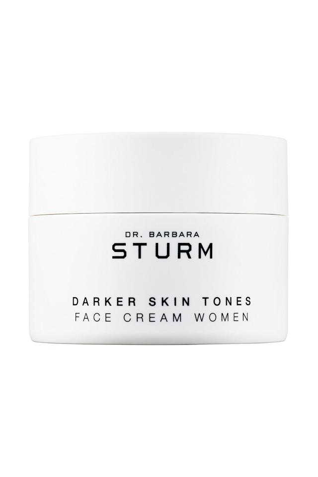 "<p><strong>Dr. Barbara Sturm</strong></p><p>sephora.com</p><p><strong>$215.00</strong></p><p><a href=""https://go.redirectingat.com?id=74968X1596630&url=https%3A%2F%2Fwww.sephora.com%2Fproduct%2Fdr-barbara-sturm-darker-skin-tones-face-cream-P448544&sref=https%3A%2F%2Fwww.marieclaire.com%2Fbeauty%2Fnews%2Fg4432%2Fbest-face-moisturizer%2F"" target=""_blank"">SHOP IT </a></p><p>""I've waxed poetic about the power of this face cream for dark skin tones. This jar has singlehandedly transformed my skin—so yes, the price tag, which is a pretty penny, is hella worth it. I'll never forget the day I was invited to a roundtable with Dr. Barbara Sturm and a room full of Black editors two years ago. She spoke openly about the science behind her skincare, and candidly answered all of our skeptical questions. I've been sold ever since and have told every brown woman in my life about its magic. The ingredients, which include botanical extracts like magnolia, and skin brighteners like lumicol and telovitin, all play their part to keep my complexion clear and radiant."" — <em>Maya Allen, Digital Beauty Editor </em></p>"
