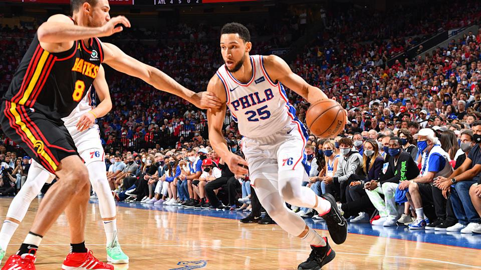 Ben Simmons, pictured here in action during Game 7 of the Eastern Conference Playoffs.