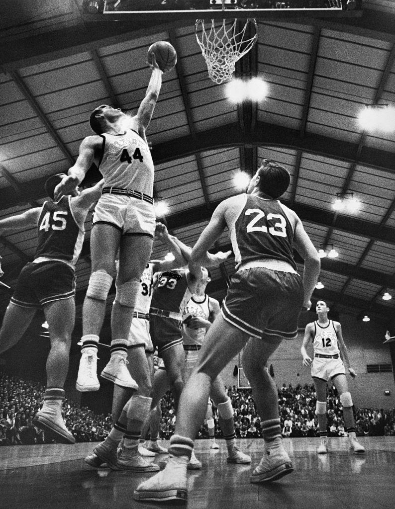 <p>The 1970s saw a boost in popularity for basketball, with all-star players like Kareem Abdul-Jabbar, Elvin Hayes, and Pete Maravich helping grow the sport's popularity throughout the decade. </p>