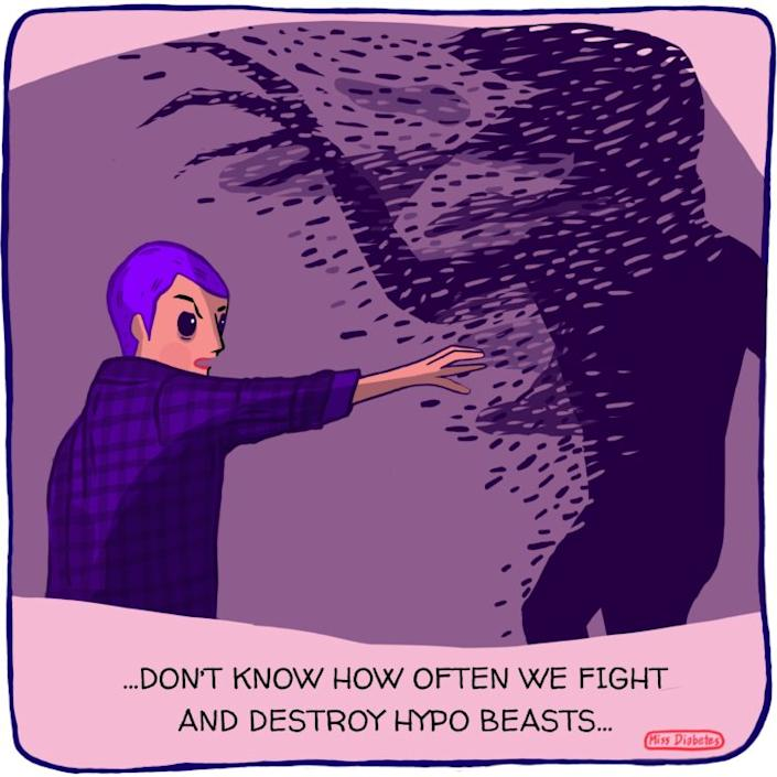 dont know how often we fight and destroy hypo beasts eleven fighting demagorgon