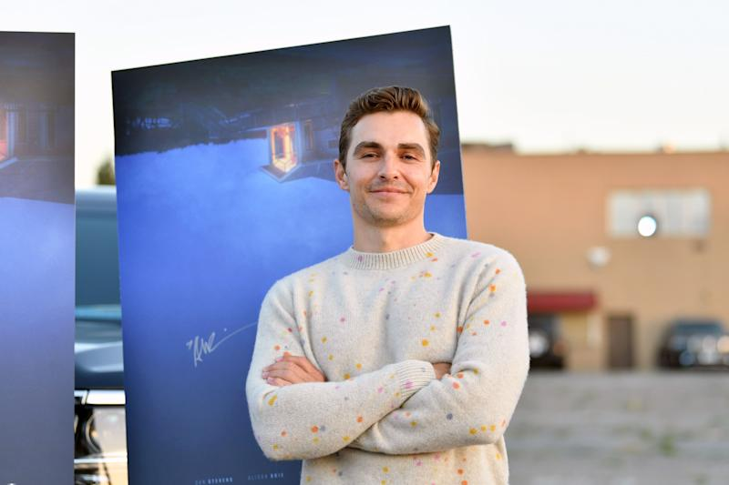 "CITY OF INDUSTRY, CALIFORNIA - JUNE 18: Dave Franco attends the Los Angeles advanced screening of IFC's ""The Rental"" at Vineland Drive-In on June 18, 2020 in City of Industry, California. Available in select theaters, drive-ins, and On Demand July 24. (Photo by Amy Sussman/Getty Images)"