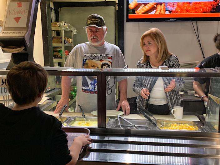 Rep. Marsha Blackburn, running for Tennessee's open Senate seat, campaigns in Mount Juliet, Tenn. (Photo: Holly Bailey/Yahoo News)