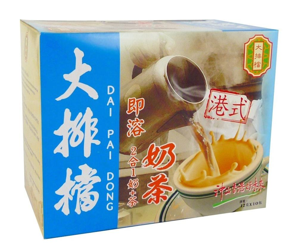 Kampery's Dai Pai Dong instant two-in-one milk tea.