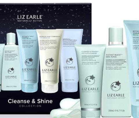 Liz Earle Cleanse + Shine Collection - Credit: Boots.com