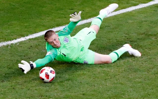 <p>It's Jordan Pickford! </p>
