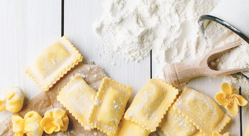 How to make pasta from scratch. (Getty Images)