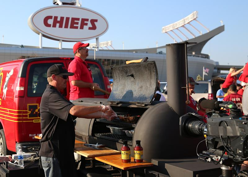 Kansas City establishment Zarda BBQ has helped Chiefs fans tailgate before. (Photo by Scott Winters/Icon Sportswire via Getty Images)