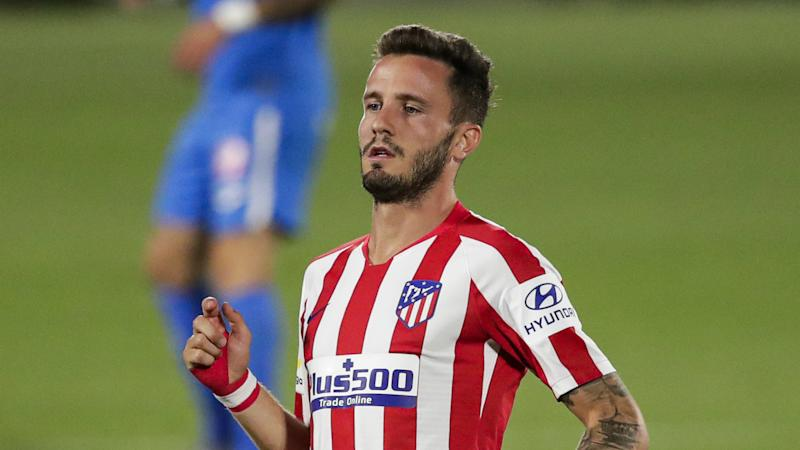 Atletico Madrid midfielder Saul Niguez 'very flattered' by Man Utd links