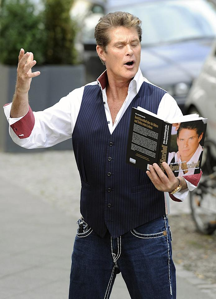 """Believe it or not, he's still huge in Germany. David Hasselhoff hit Berlin on his """"The Hoff is Back"""" publicity tour, where the future """"Dancing With the Stars"""" contestant promoted his recent autobiography, and announced he would be giving major concerts in Germany beginning in February 2011. Toni Passig/<a href=""""http://www.wireimage.com"""" target=""""new"""">WireImage.com</a> - August 25, 2010"""