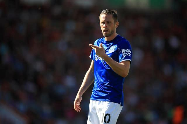Gylfi Sigurdsson has called on Everton to stick together (Adam Davy/PA)