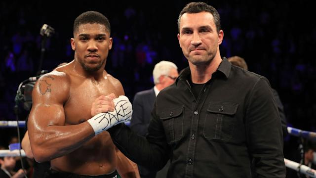 The last man to fall victim to Anthony Joshua believes he is the present and the future of the heavyweight division.