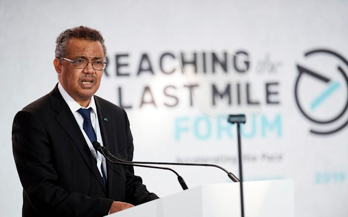Dr Tedros has stressed the need for global cooperation and investment in health infrastructure - Jonathan Gibbons