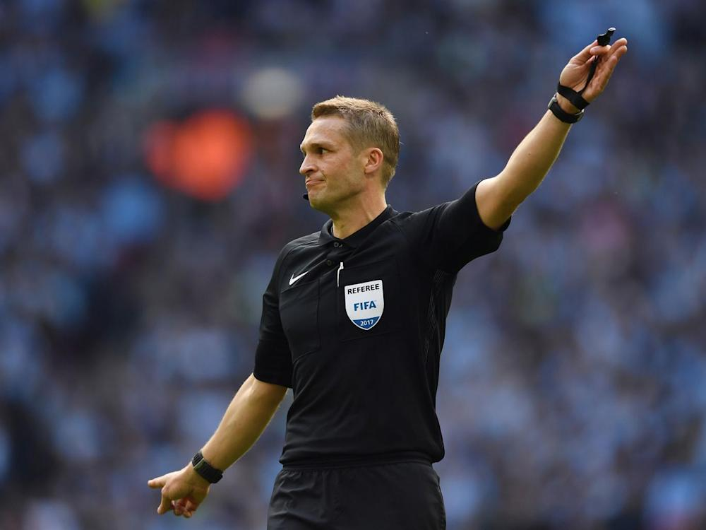 Pawson appeared to make controversial decisions against both sides (Getty)