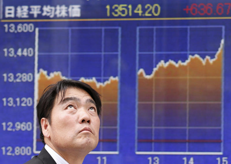 Asian stocks slide led by Tokyo on worries