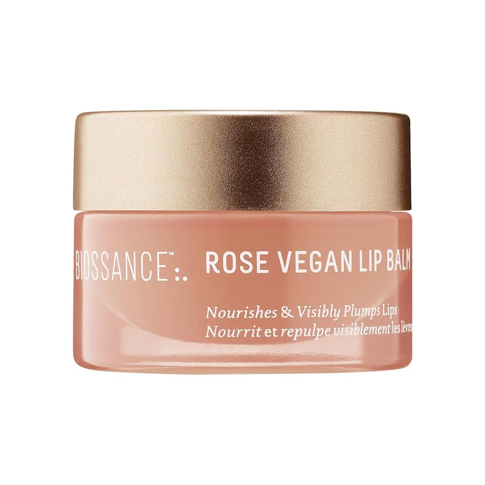 <p>The best way to avoid painful, chapped lips this winter? Start using lip balm <em>before </em>your lips get dry. This vegan, petroleum-free formula is a mix of lip-plumping hyalurnoic acid, soothing rose absolute, smoothing wakame algae and ceramides that strengthen the skin barrier. </p>