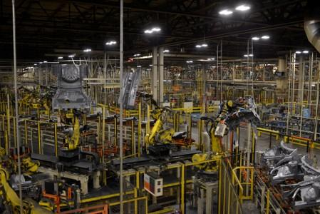 U.S. factory output posts first monthly growth of 2019