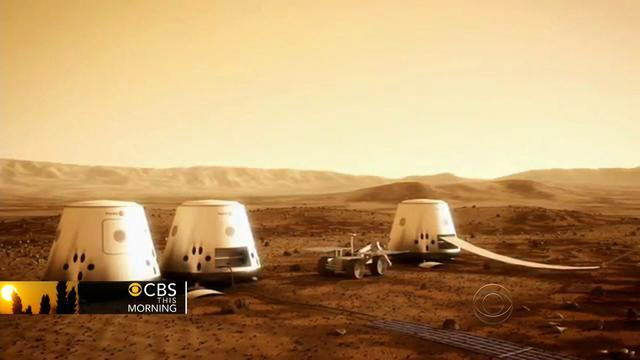 Mars One is a new effort to put humans on the red planet within a decade. John Blackstone reports on the privately-funded project that aims to take them there.