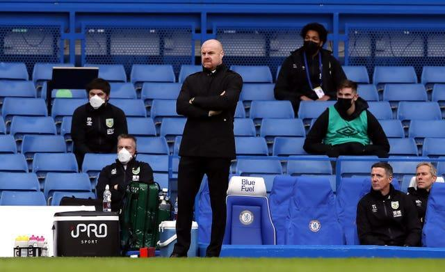 Sean Dyche was not downhearted after defeat