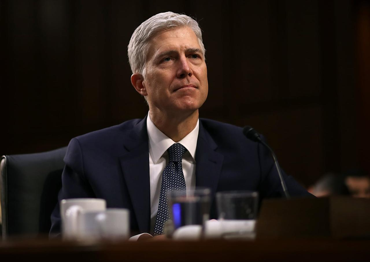 """<p> Appointed by Trump in 2018, Justice Neil Gorsuch had already established himself as a conservative, if not libertarian, judge focussed on preserving individual freedoms - religious or otherwise - during his tenure on the 10th Circuit Court of Appeals. Gorsuch has often authored opinions <a href=""""https://www.theatlantic.com/politics/archive/2017/03/gorsuchs-selective-view-of-religious-freedom/520104/"""" target=""""_blank"""" class=""""ga-track"""" data-ga-category=""""Related"""" data-ga-label=""""https://www.theatlantic.com/politics/archive/2017/03/gorsuchs-selective-view-of-religious-freedom/520104/"""" data-ga-action=""""In-Line Links"""">protecting citizen and corporation's right to express and maintain their religious views</a> in all aspects of their business. This includes arguing it was Hobby Lobby's religious right to refuse to provide coverage for contraception in their employee healthcare policy. In fact, Gorsuch even argued more individual business owners should exercise a similar philosophy of aligning religious beliefs with their business policies. This focus on protecting religious freedom could mean Gorsuch would support companies in choosing not to employ LGBTQ+ employees if they cited religious beliefs as a reason. </p> <p>During oral arguments, Gorsuch seemed to see the arguments from both sides. At one point, he told the plaintiff's lawyer in the Aimee Stephens case that he was """"with him on the textual evidence"""" that the use of sex in Title XII could be applied to include protection against discrimination based on gender. But he also wondered whether such an inclusion """"could create social upheaval"""" in regards to people who appose LGBTQ+ lifestyles for religious reasons. When Aimee Stephens's lawyer David Cole responded that recognizing discrimination against trans folks as sex discrimination was simply continuing years of precedent set by federal appeal courts, Gorsuch simply repeated his question as if Mr. Cole had not addressed it. </p> <p>At first glance, Gorsuch's dedica"""