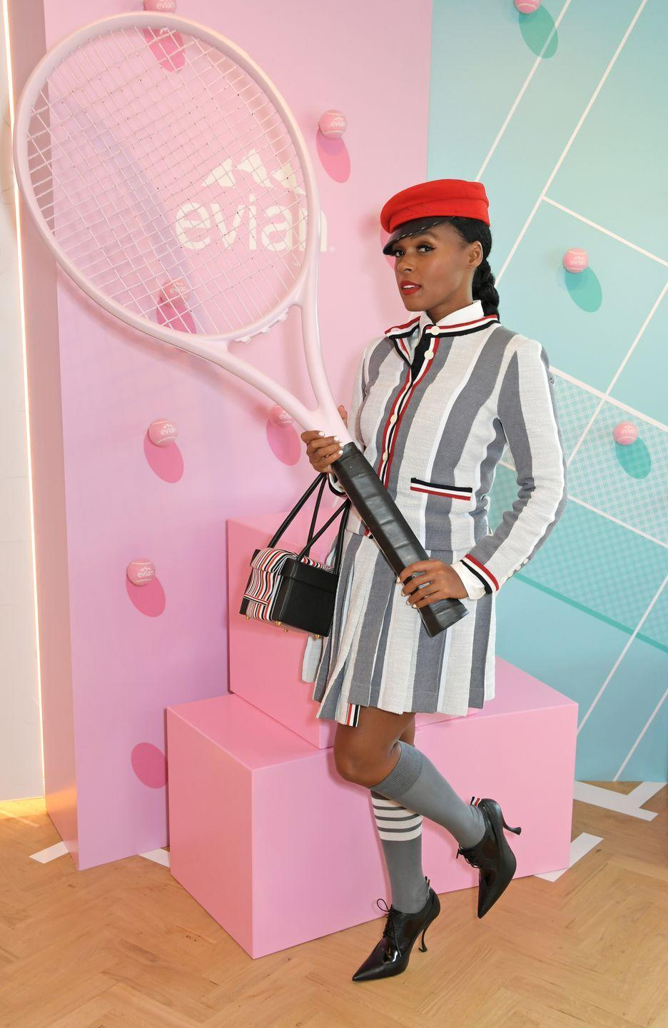 <p>In the Evian Live Young Suite.</p>