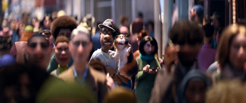 Joe (Jamie Foxx) in 'Soul' (Disney/Pixar)