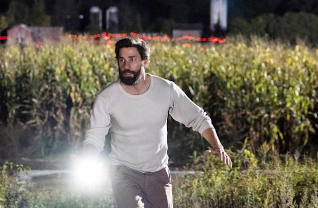 Rest assured in 2020, the world will not be taken over by blind aliens as seen in <em>A Quiet Place</em>. (Courtesy: Everett Collection)