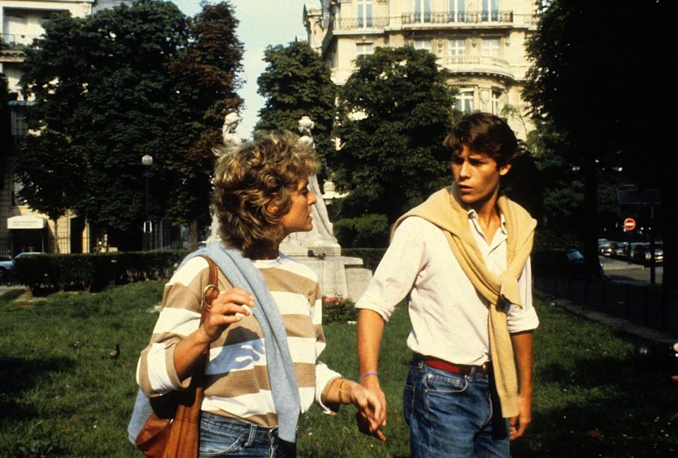 <p>Farrah Fawcett in Paris with financier Arpade Busson. </p><p>Other celebrity visitors this year: John Travolta, Mick Jagger, Jerry Hall.</p>