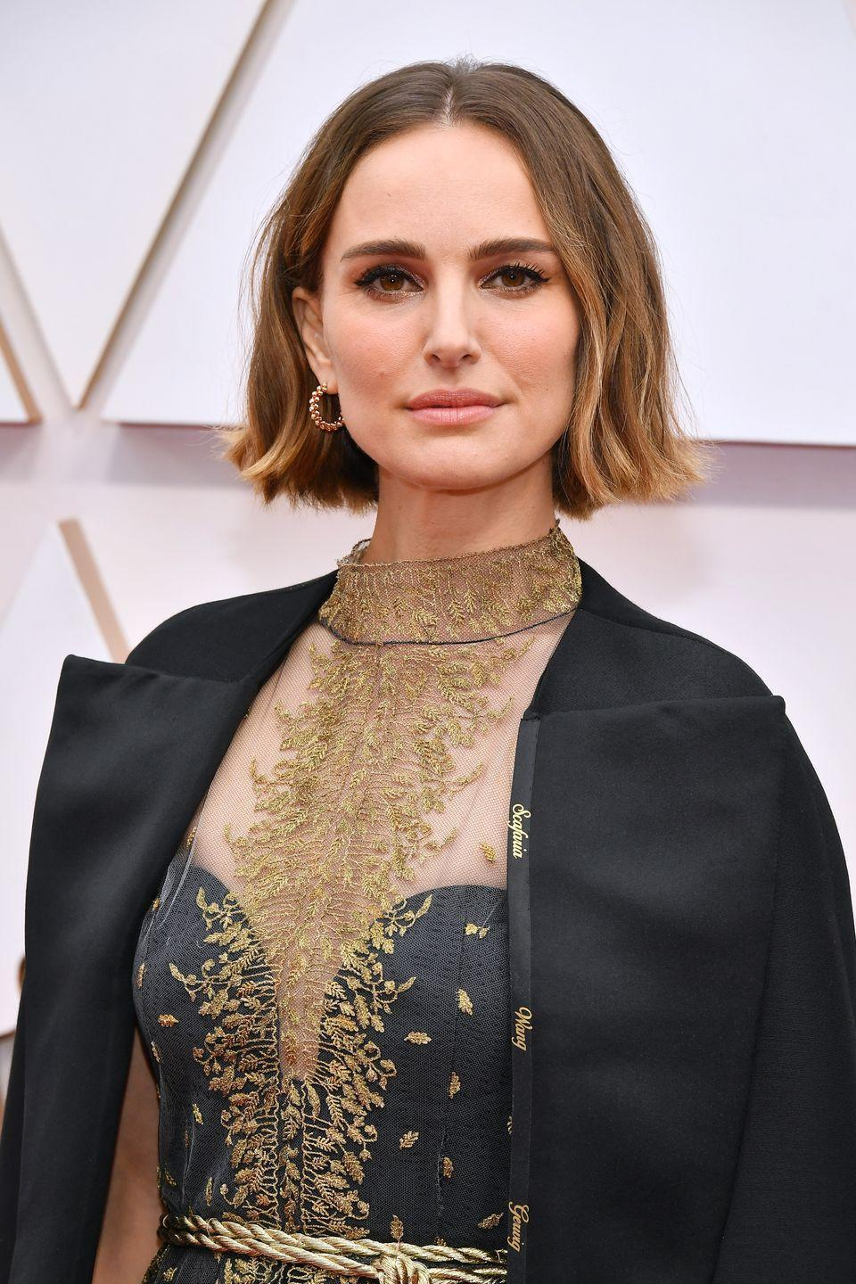 <p><strong>Hair</strong></p><p>Ever the fashion chameleon, Portman's style choices have always been bold and unique. </p>