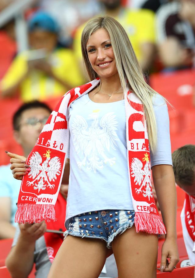 <p>Poland fan at Spartak Stadium in Moscow, Russia on June 19, 2018.<br>(Photo by Matteo Ciambelli/NurPhoto via Getty Images) </p>