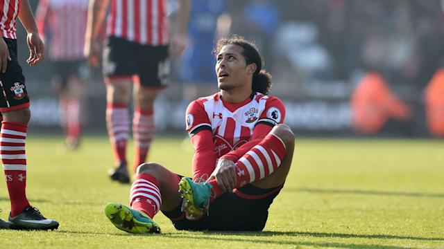 Southampton will be without Virgil van Dijk and Manolo Gabbiadini when they entertain Bournemouth in the Premier League this weekend.