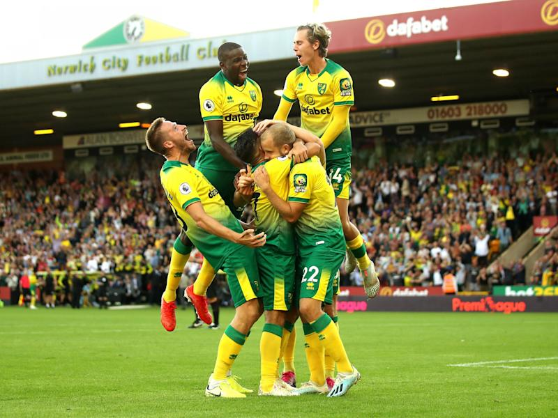 Norwich secured a stunning home victory over champions Manchester City: Getty