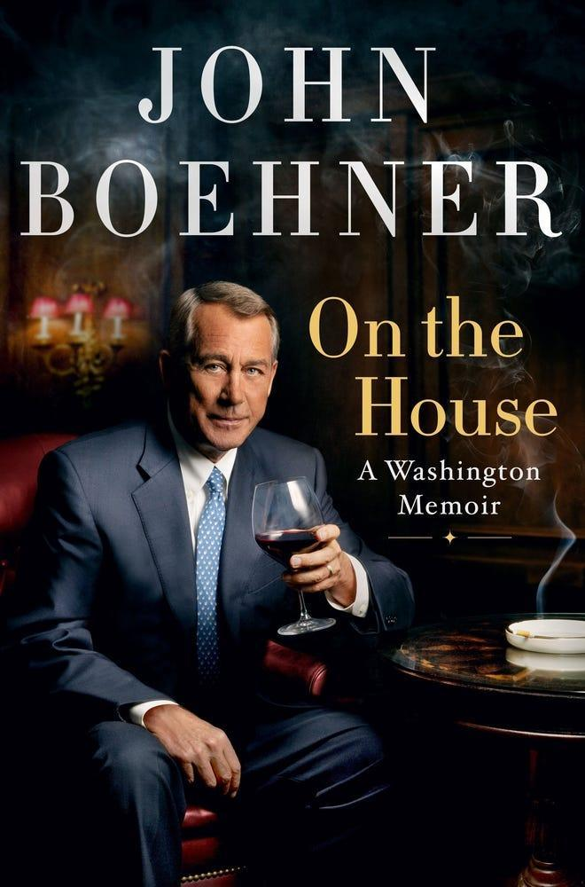 "John Boehner does more roasting than toasting of Republicans in his political memoir, ""On the House."""