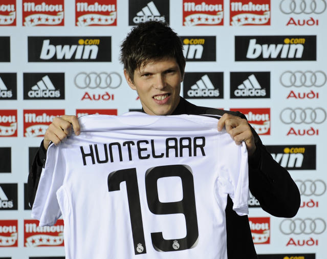 Klaas-Jan Huntelaar Real Madrid Top 20 transfers Eredivisie