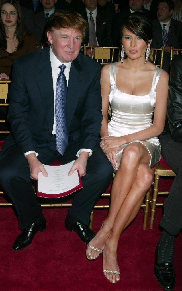 From white dress to White House. (Photo: Getty)