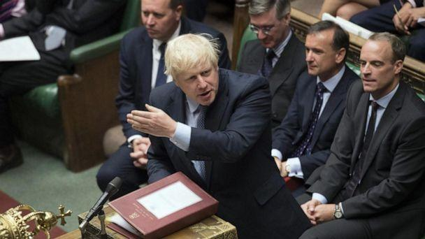 VIDEO: Parliament and Prime Minister Boris Johnson at war over Brexit (ABCNews.com)