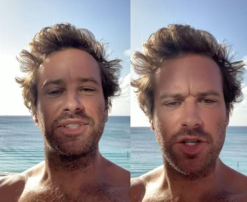 Armie Hammer trended on social media after the leaked DMs sparked controversy online. — Pictures via Instagram/armiehammer