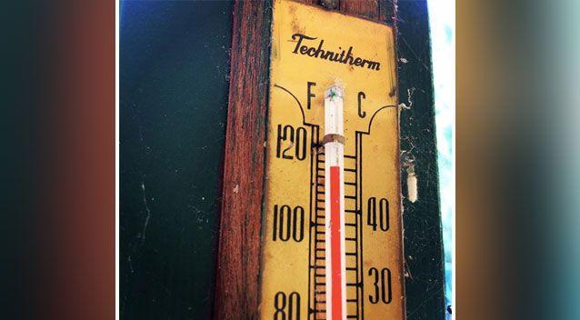 The mercury reached a staggering 47.1C in Penrith. Source: Instagram
