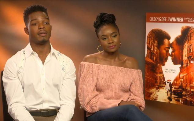 The If Beale Street Could Talk stars say whether you should read the James Baldwin nobel before or after seeing the movie.
