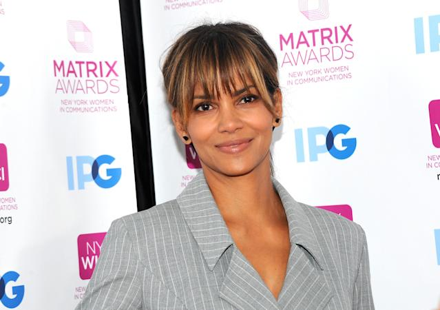 Halle Berry at the 2018 Matrix Awards in April in New York City. (Photo: Desiree Navarro/WireImage)