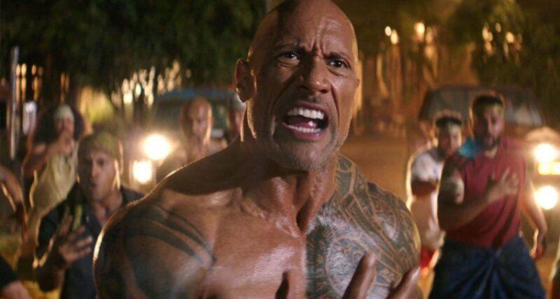 Dwayne Johnson in Hobbs & Shaw