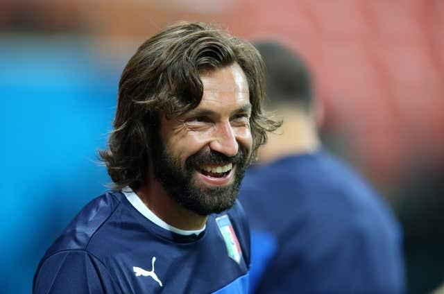 Andrea Pirlo was only appointed into the role in September