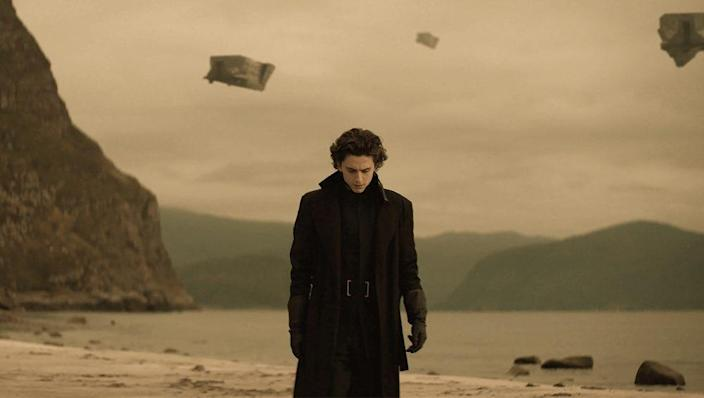 """A picture of Timothée Chalamet in """"Dune."""""""
