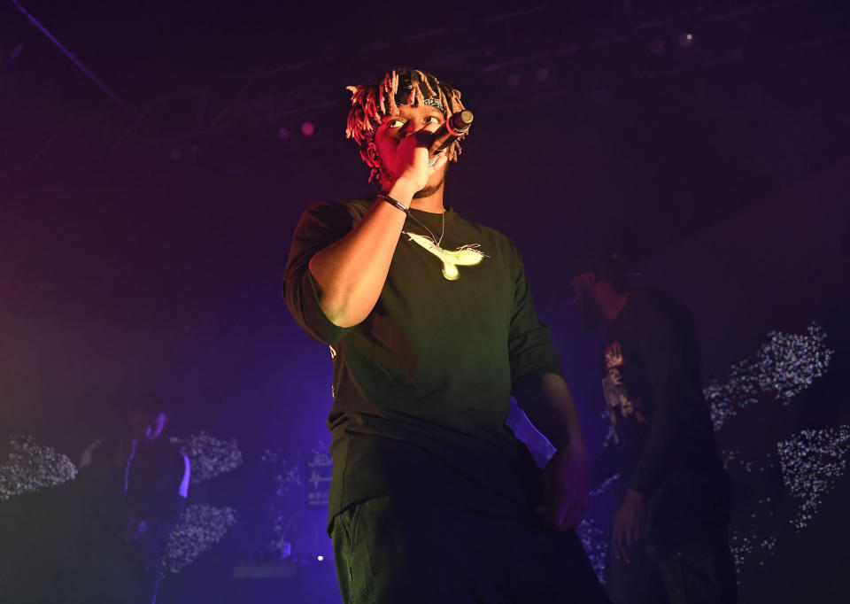 KSI performing in concert on February 1, 2020 at Islington Academy in London, England, UK.
