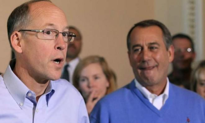 Rep. Greg Walden (R-Ore.) is countering the Democrats' $1 trillion coin trick with a stunt of his own.