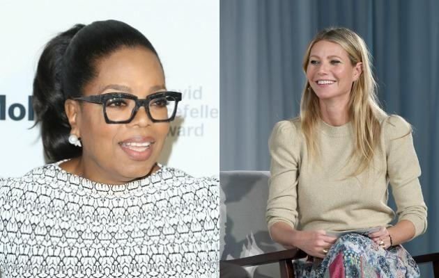 Oprah Winfrey featured as the first guest speaker on Gwyneth Paltrow's new Goop podcast. Source: Getty