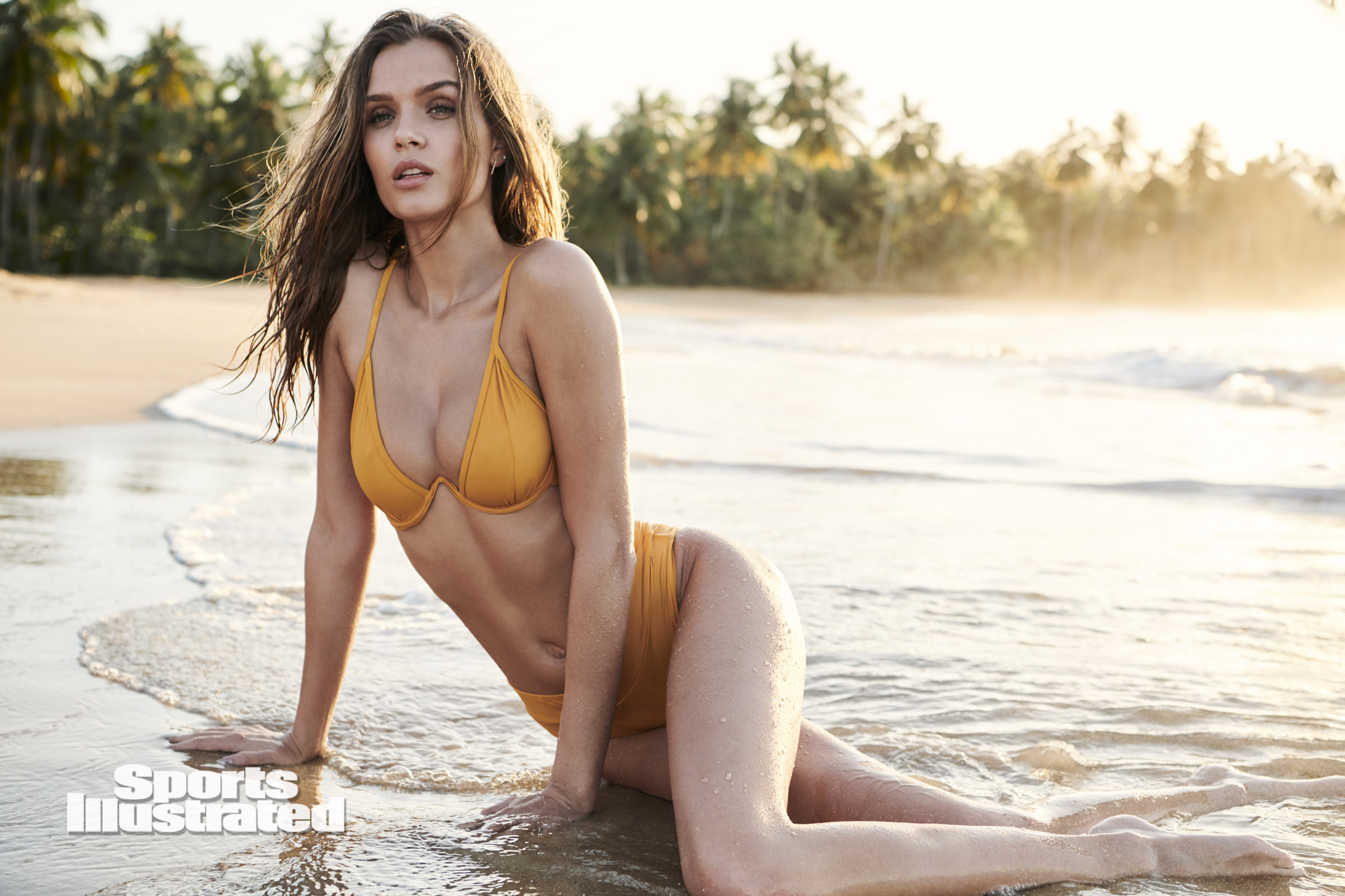 Josephine Skriver posing for Sports Illustrated Swimsuit 2020, on sale now. (Photo: Kate Powers/Sports Illustrated)